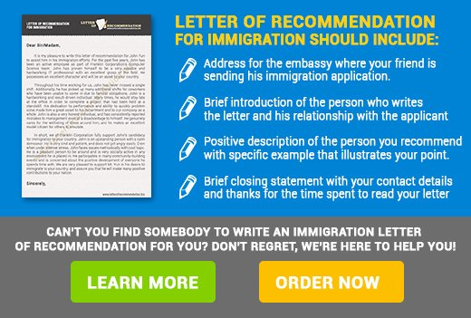 Letter Of Knowing someone for Immigration Elegant Immigration Letter Of Re Mendation
