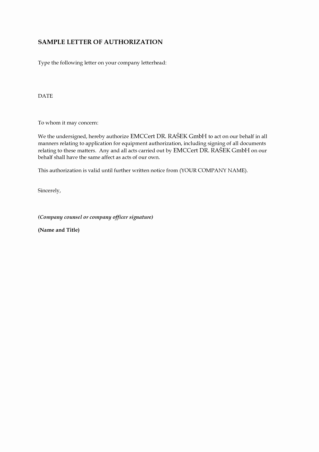 Letter Of Permission to Travel with Grandchildren Beautiful Authorization Letters On Pinterest