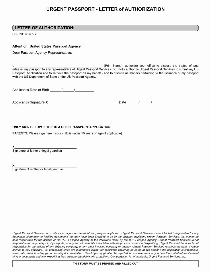 Letter Of Permission to Travel with Grandchildren Elegant Authorization Letter Sample and Notarized Child Travel