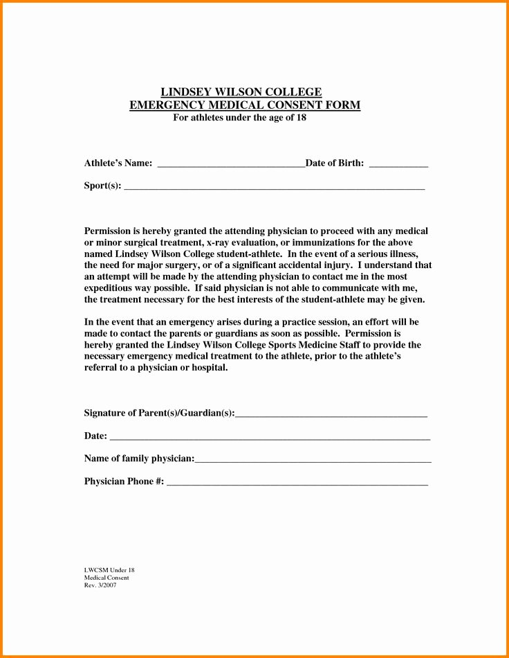 Letter Of Permission to Travel with Grandchildren Fresh the 25 Best Medical Consent form Children Ideas On