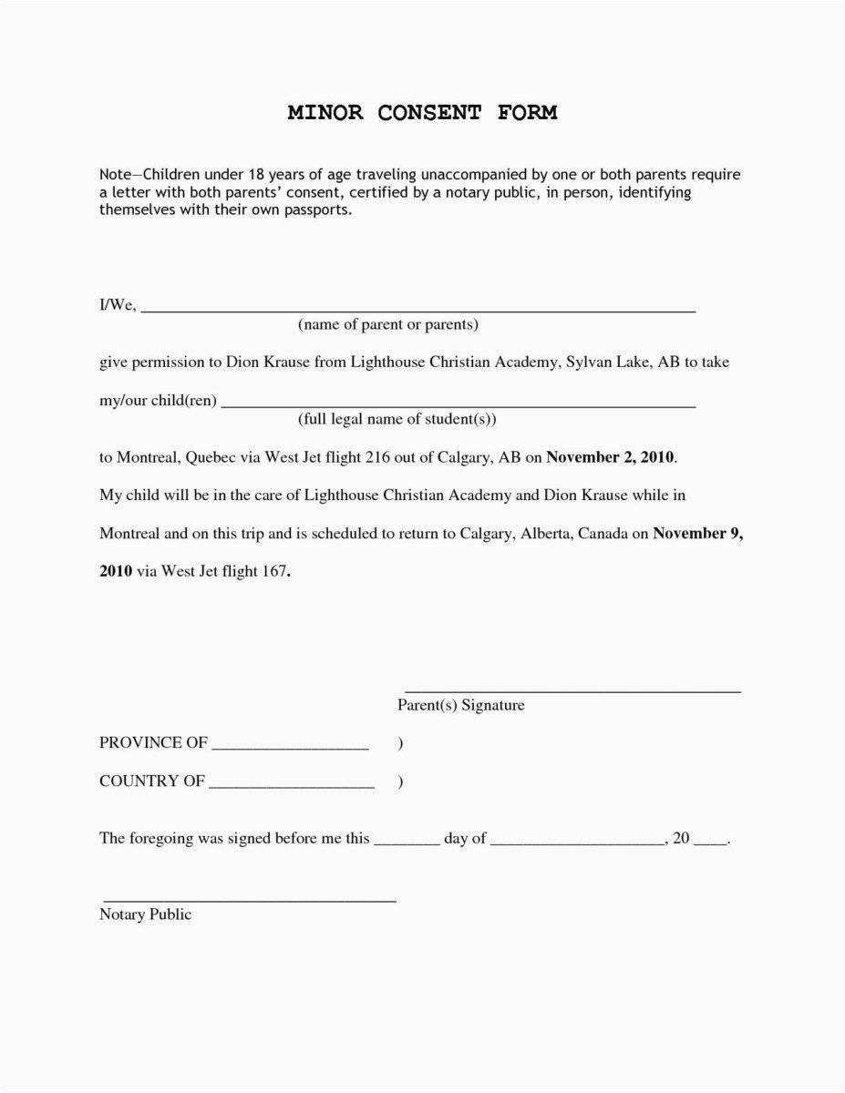 Letter Of Permission to Travel with Grandchildren Luxury Letter for Grandparents to Travel with Grandchildren