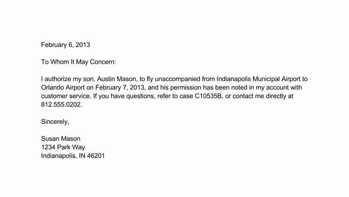 Letter Of Permission to Travel with Grandchildren New 21 Sample Permission Letters & Templates Writing Guidelines