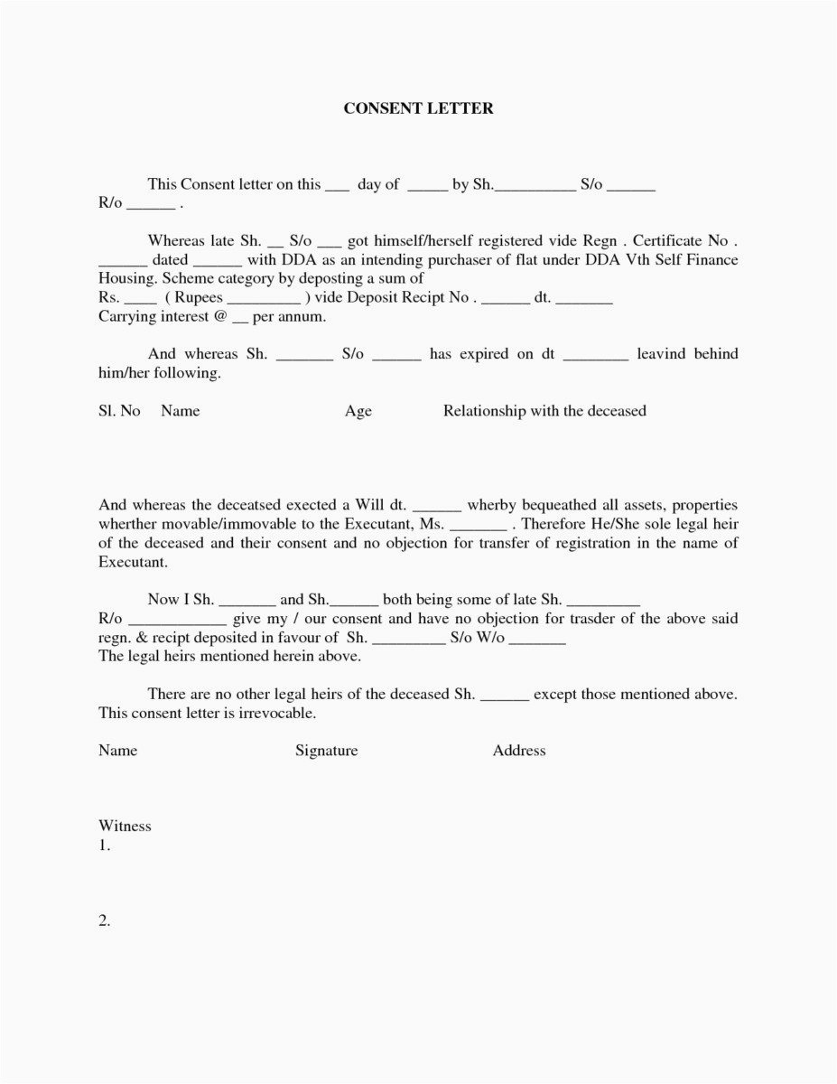 Letter Of Permission to Travel with Grandchildren Template Best Of Letter Permission to Travel with Grandchildren Template