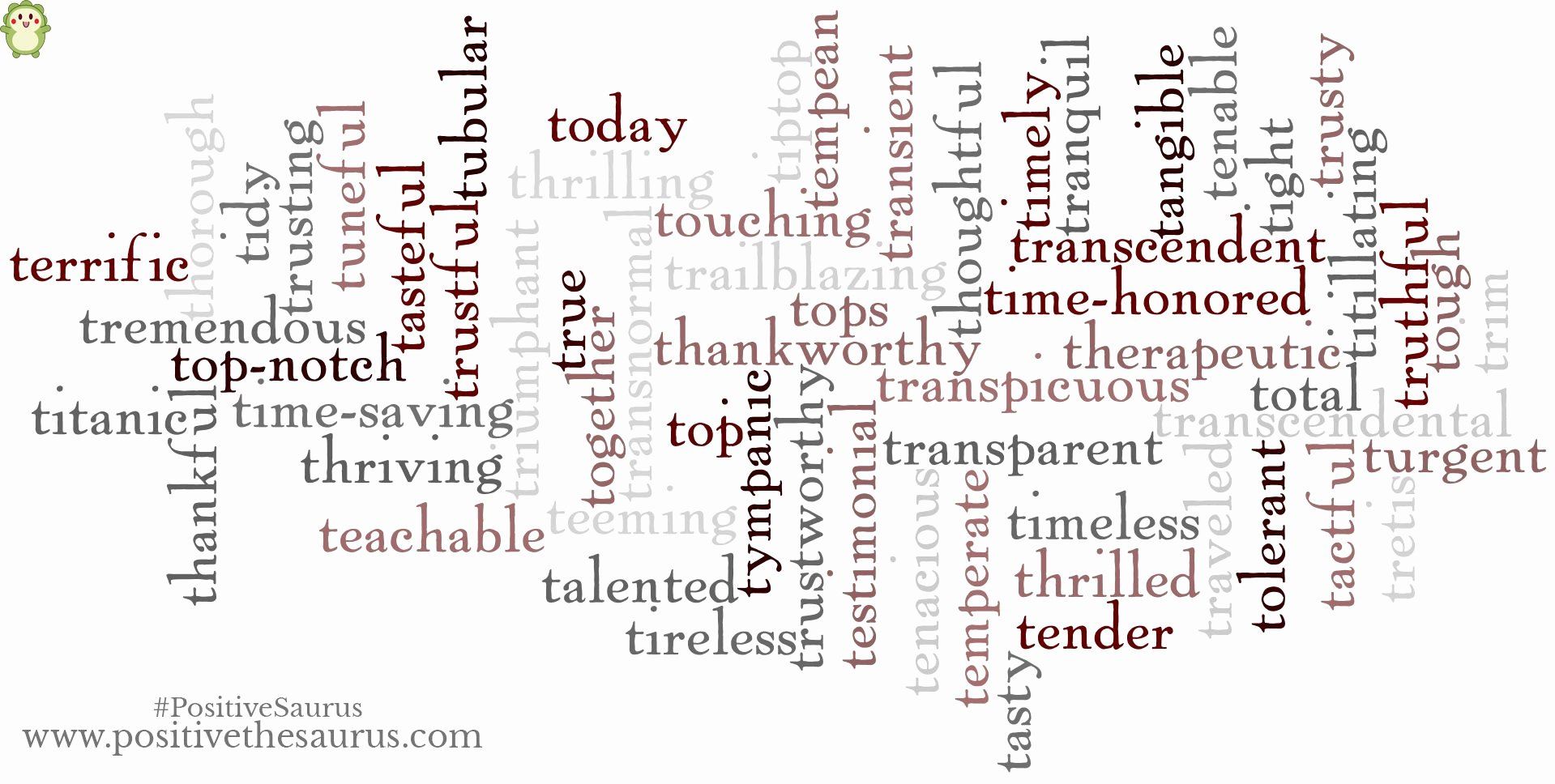 Letter Of Recommendation Adjectives New Positive Adjectives Starting with T Have A Thrilling Day