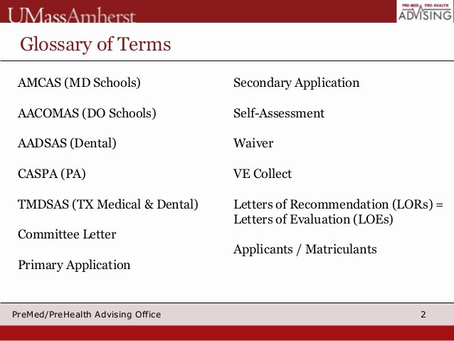 Letter Of Recommendation Amcas Awesome Applying to Medical School 2015 Part I