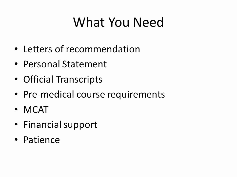 Letter Of Recommendation Amcas Beautiful Amcas Personal Statement Medical School