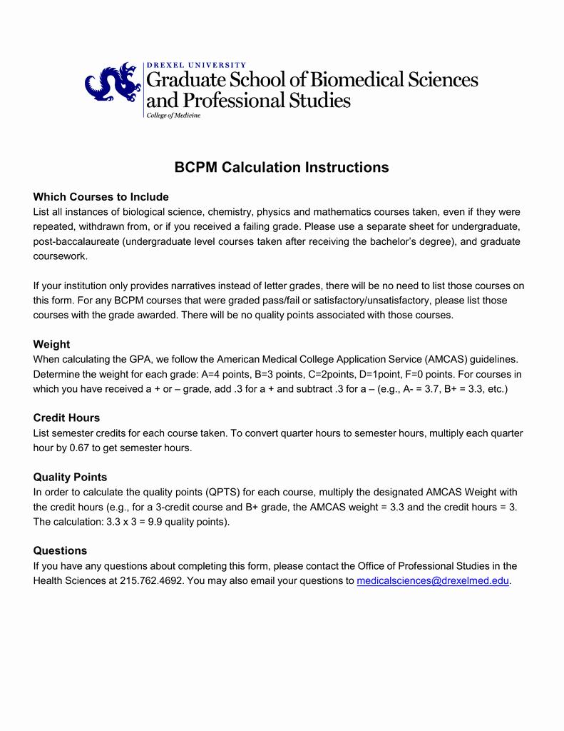 Letter Of Recommendation Amcas New Amcas Coursework Instructions
