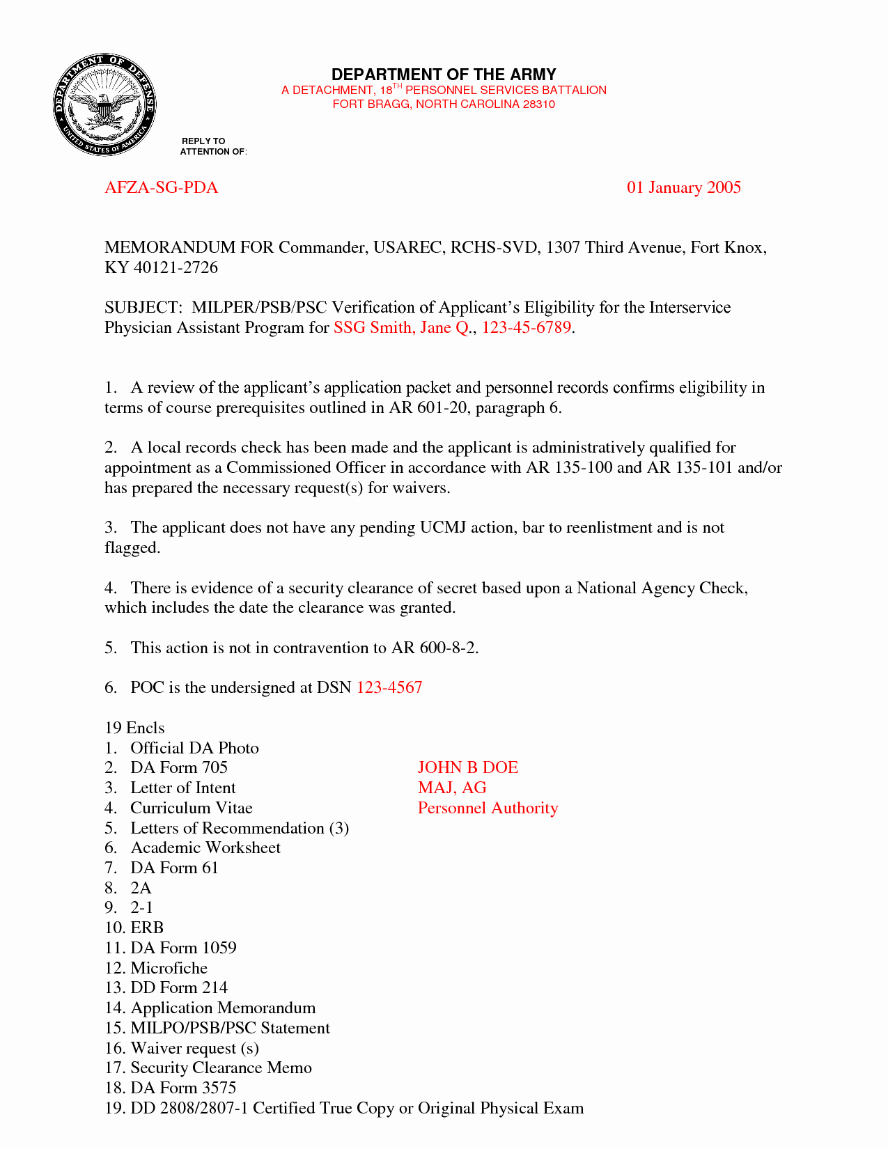 Letter Of Recommendation Army Unique Best S Of Examples Military Letters Army