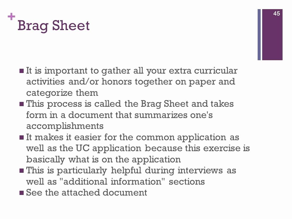 Letter Of Recommendation Brag Sheet Unique Sample Parent Brag Sheet for College Sample Brag Sheet
