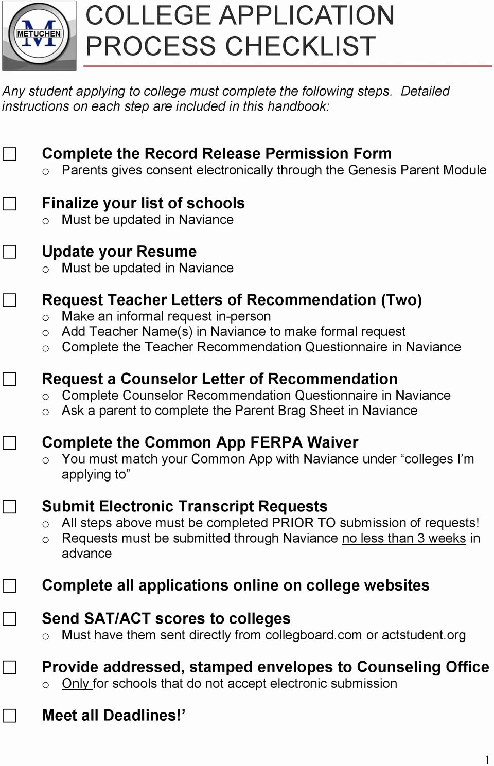 Letter Of Recommendation Common App Fresh the College Application Handbook Pdf