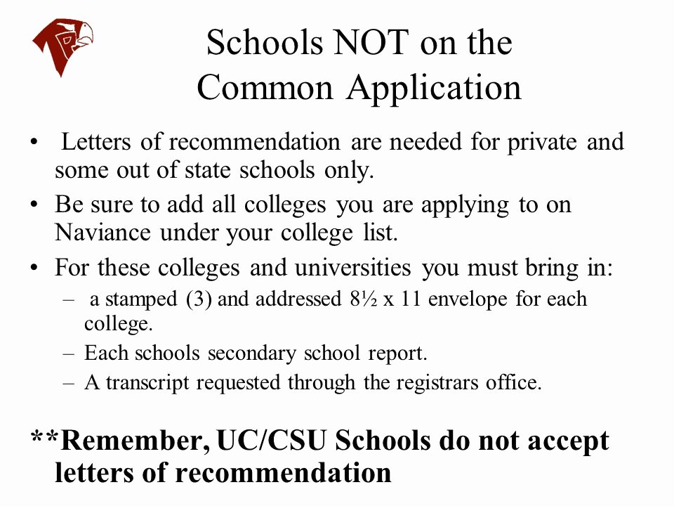 Letter Of Recommendation Common App Lovely torrey Pines High School Ppt Video Online