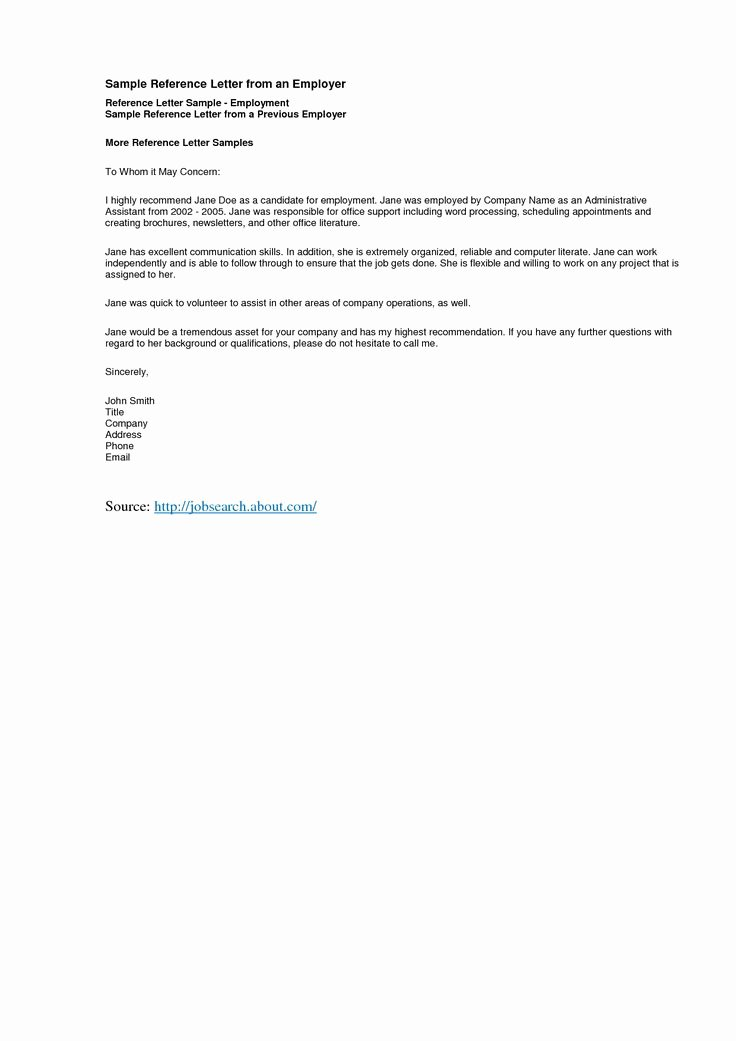 Letter Of Recommendation Common App New Reference Letter Template Best Templatepersonal