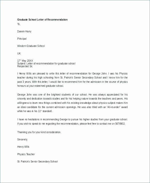 Letter Of Recommendation Dental School Lovely Dental School Letter Re Mendation From Dentist Sample