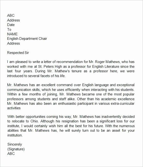 Letter Of Recommendation Dental School Unique Dental Letters Re Mendation