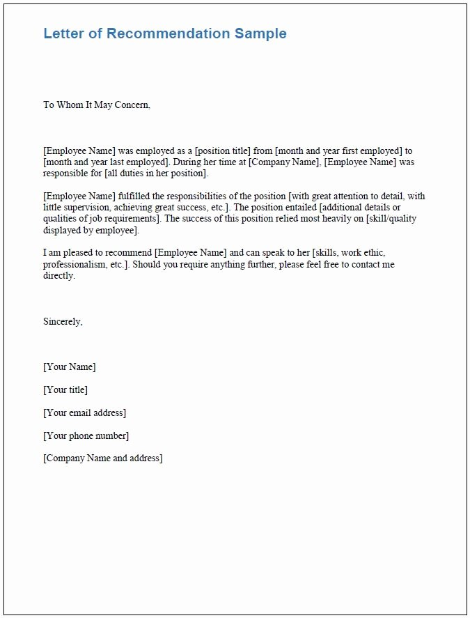 Letter Of Recommendation Email Template Beautiful Free Boarding Checklists and Templates
