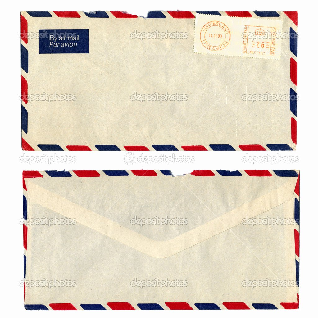 Letter Of Recommendation Envelope Awesome Postage for Letter