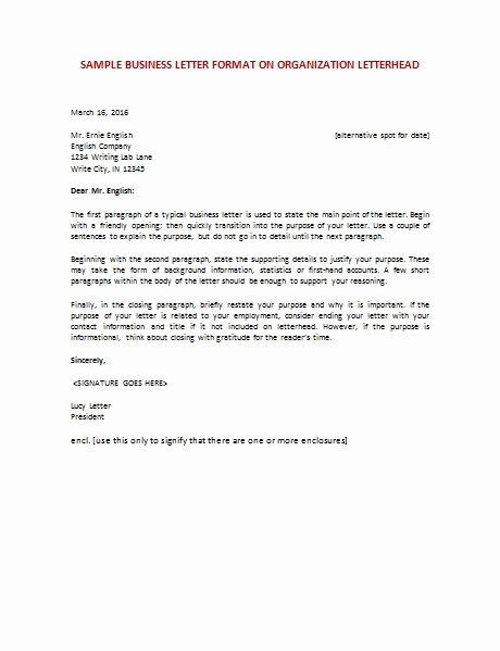 Letter Of Recommendation Etiquette New Business Letter Etiquette Examples