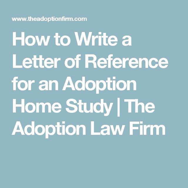 Letter Of Recommendation for Adoption Elegant 25 Bästa Writing A Reference Letter Idéerna På Pinterest