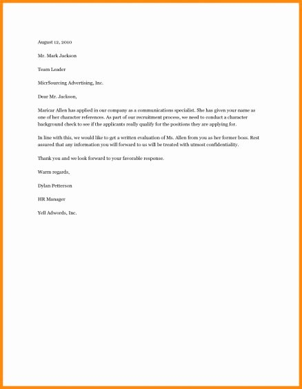 Letter Of Recommendation for Adoption Lovely Adoption Reference Letter Examples Re Mendation