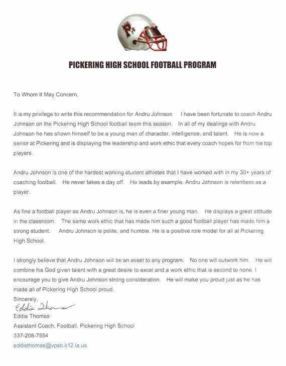 Letter Of Recommendation for athletes Best Of Contoh Application Letter Bahasa Inggris Contoh Akar