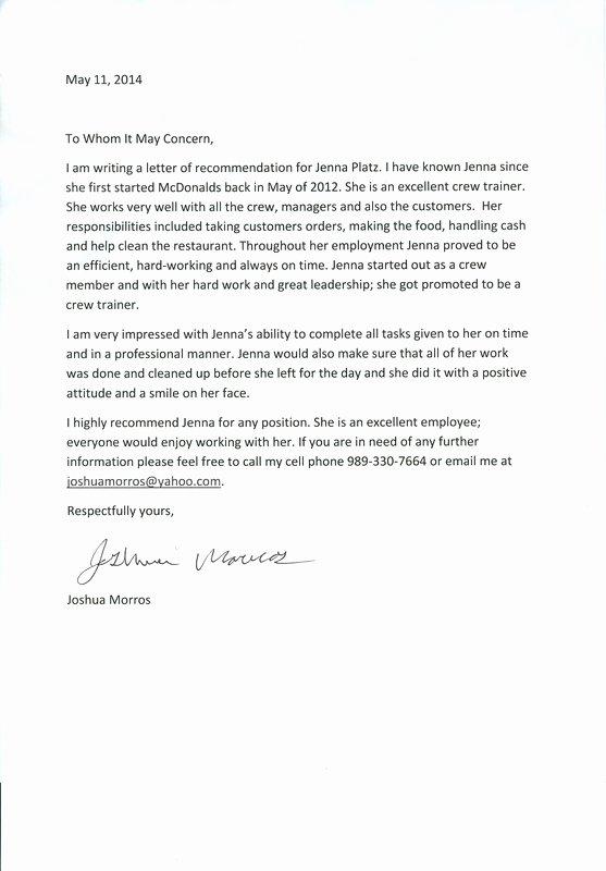Letter Of Recommendation for Citizenship Best Of Personal Testimony Portfolio
