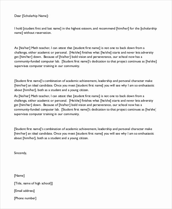 Letter Of Recommendation for Citizenship Best Of Sample Character Reference Letter 7 Examples In Pdf Word