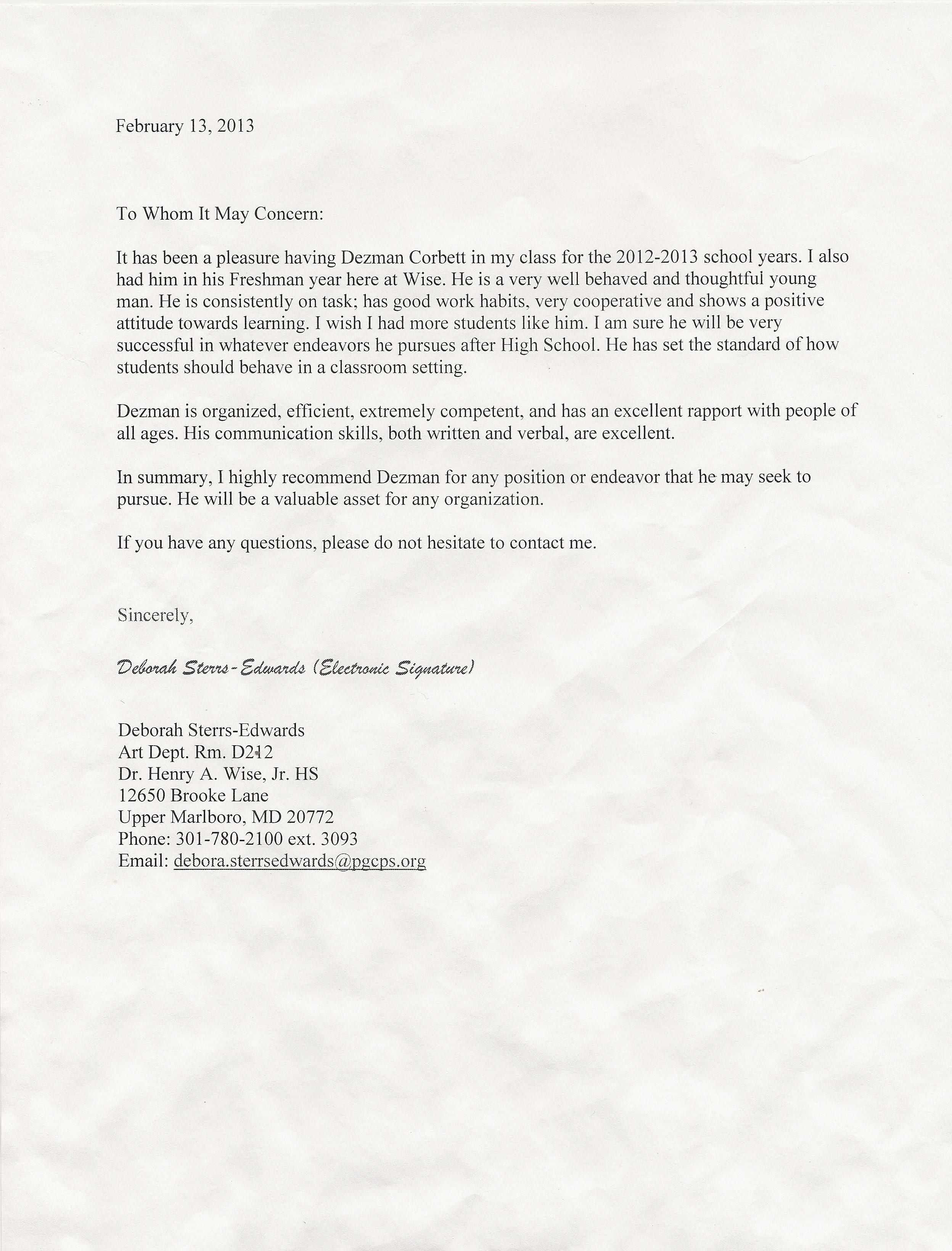 Letter Of Recommendation for Citizenship Luxury Re Mendations Citizenship Dezman Corbett S Career