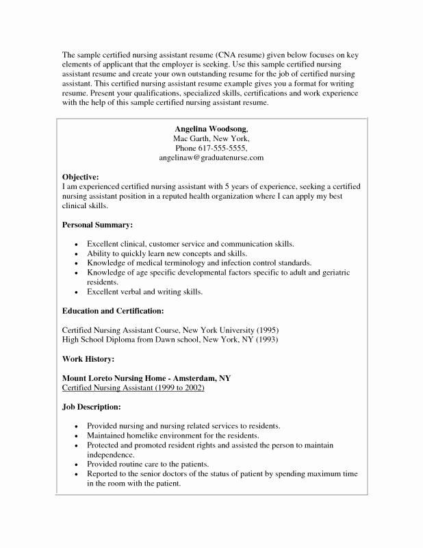 re mendation letter sample for cna job