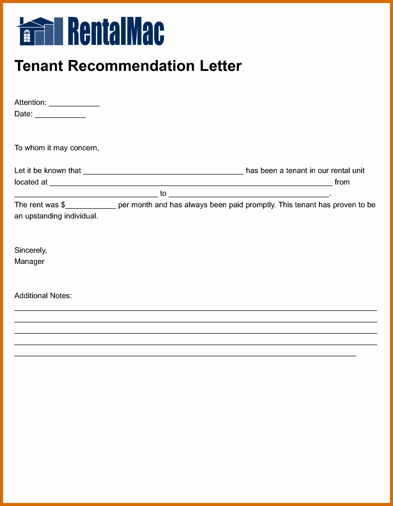 Letter Of Recommendation for Housing Unique 5 6 Housing Reference Letter