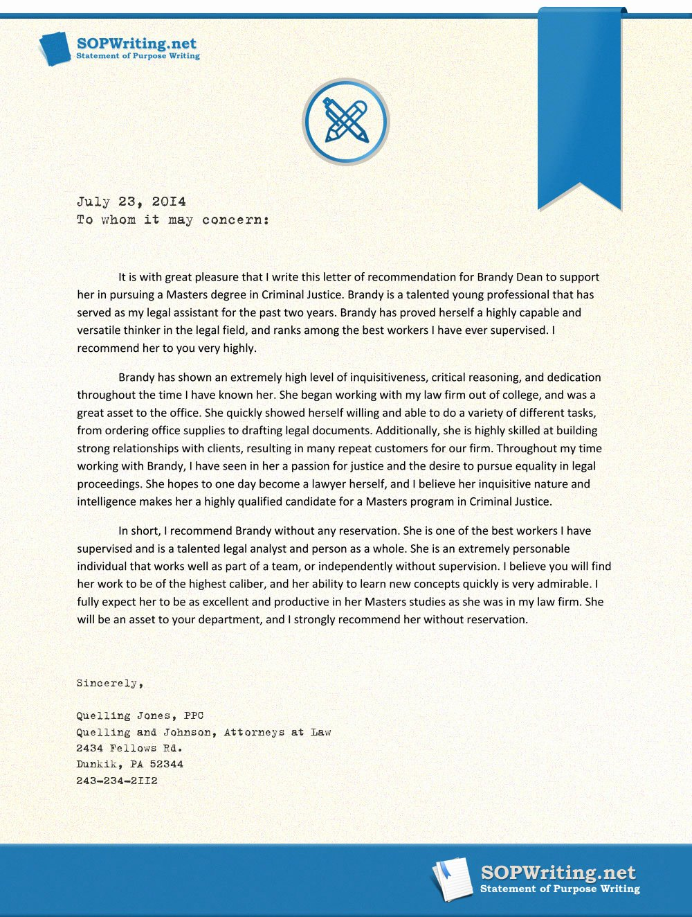 Letter Of Recommendation for Mba Elegant Sample Letter Of Re Mendation for Master Level