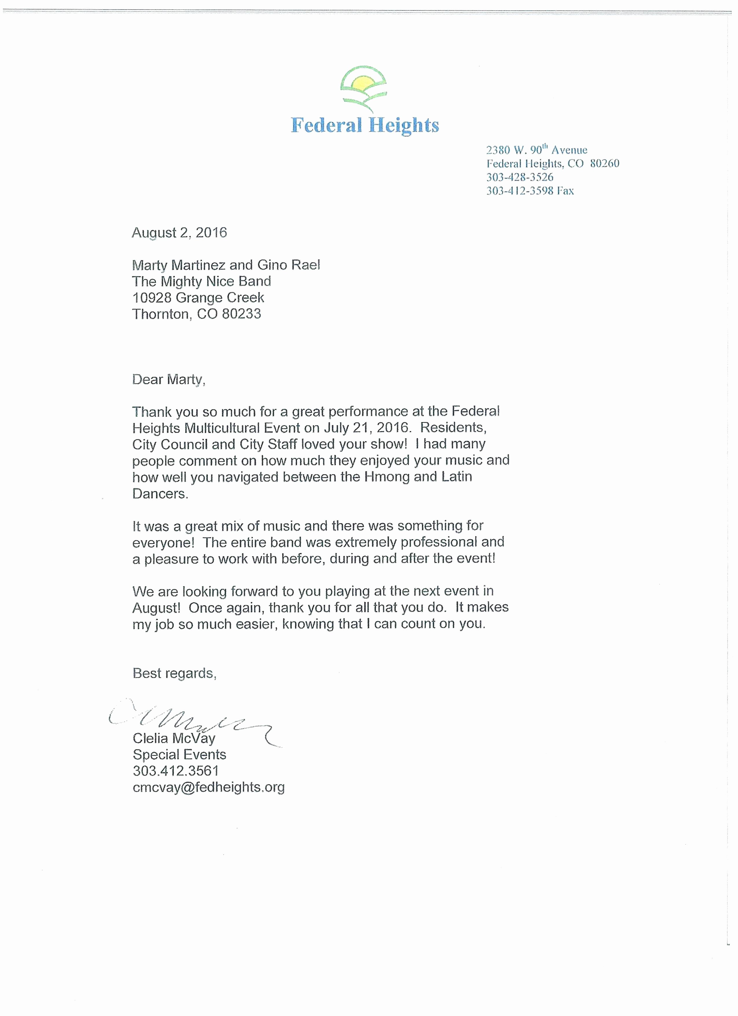 Letter Of Recommendation for Musician Luxury Thank You Letter Holiday From Teacher to Students