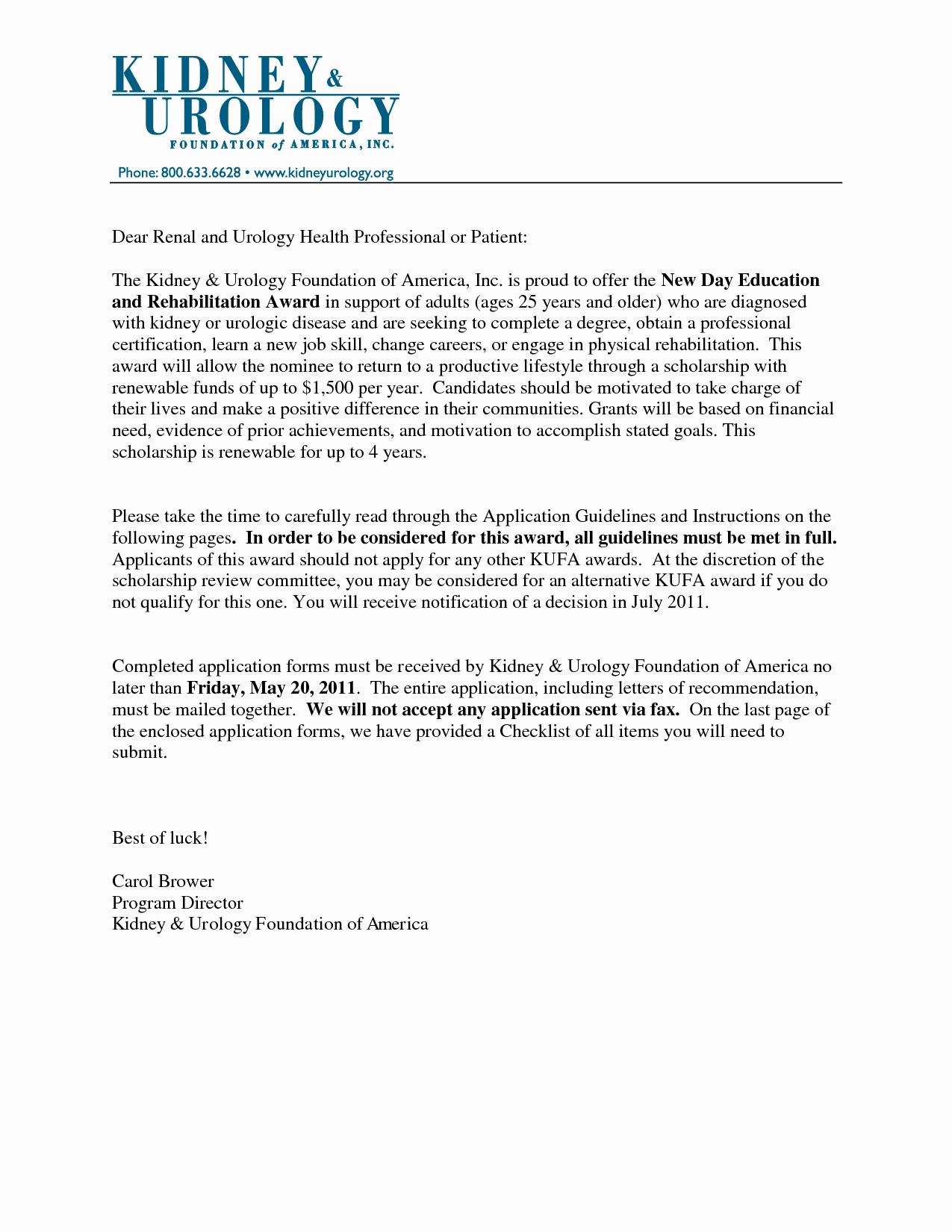 Letter Of Recommendation for Nursing New Sample Re Mendation Letter for Nursing Hashtag Bg