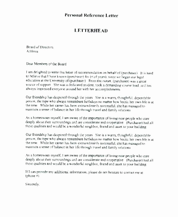 Letter Of Recommendation for Parole Lovely Sample Letter to Parole Board From Family Viewletter Co
