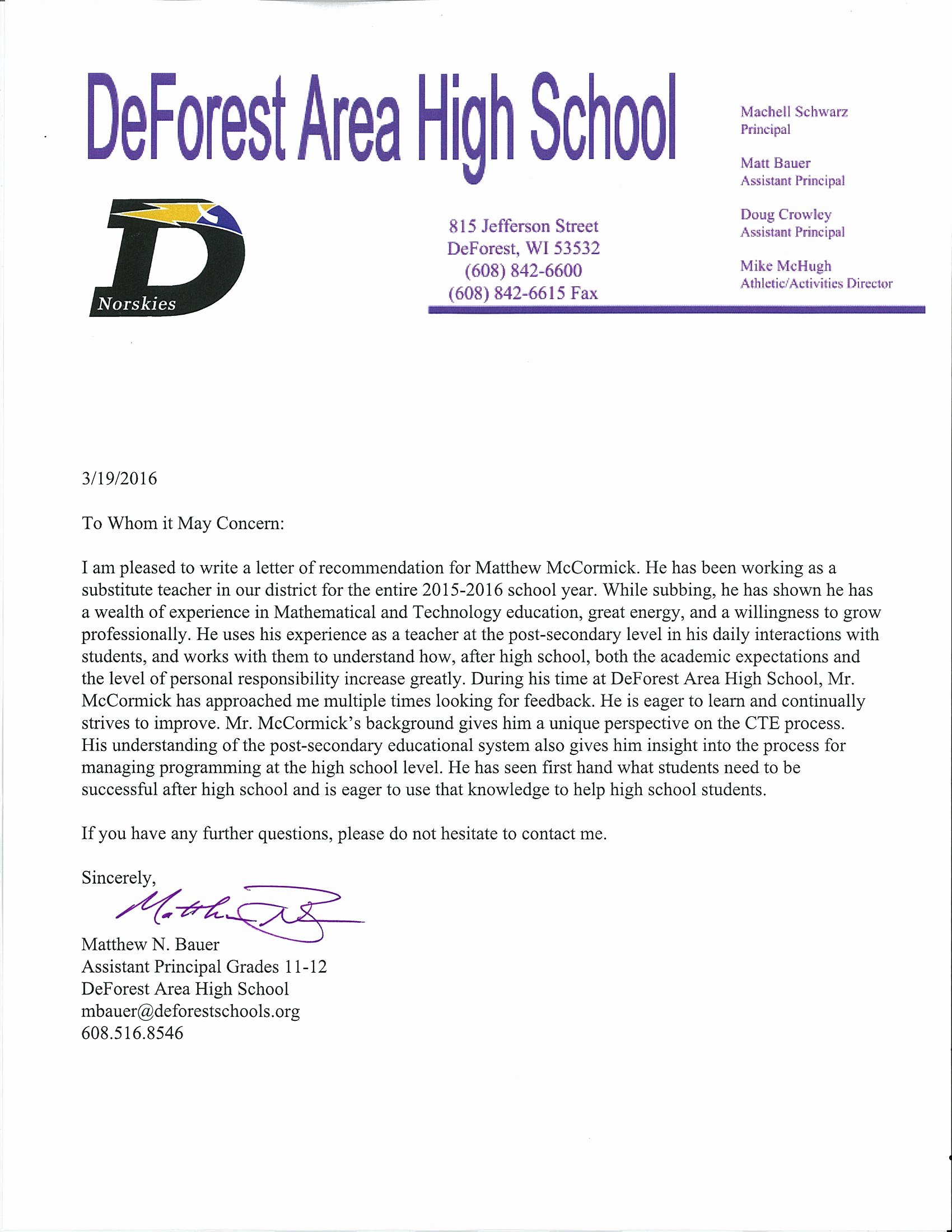Letter Of Recommendation for Principals Beautiful Catholica Romana Magister