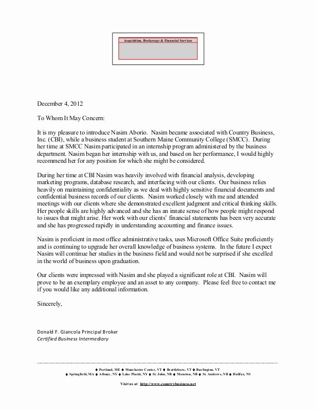 Letter Of Recommendation for Principals Luxury Letter Of Re Mendation Don Giancola Principal