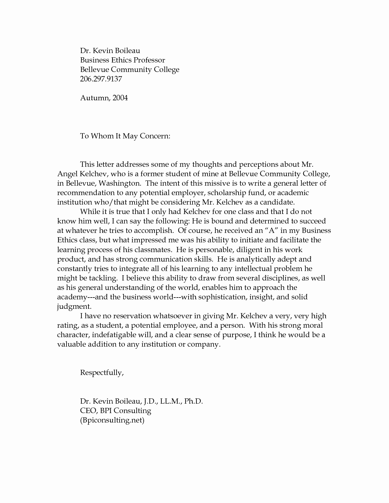 Letter Of Recommendation for Professorship New Sample Re Mendation Letters