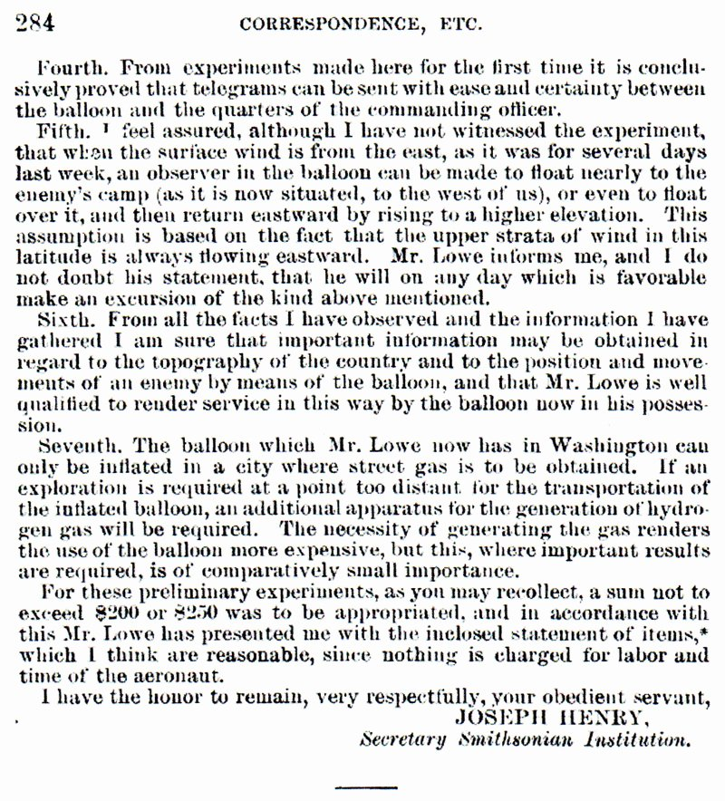 Letter Of Recommendation for Secretary Unique Civil War Ficial Record June 21 1861