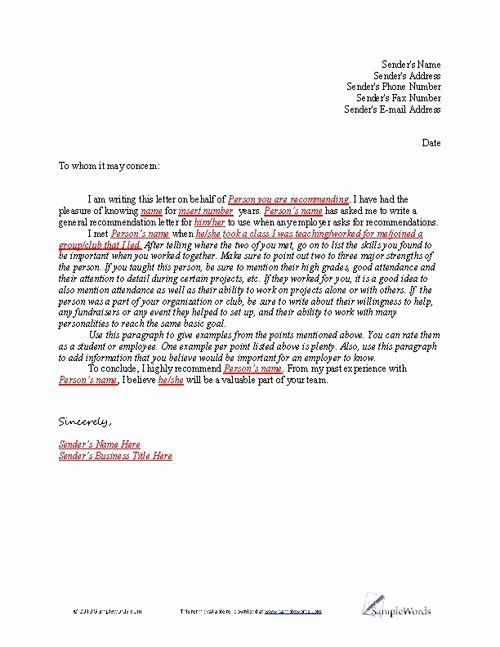 Letter Of Recommendation for sorority Beautiful Letter Of Re Mendation Sample