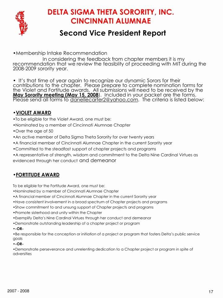 Letter Of Recommendation for sorority Luxury Ppt Delta Sigma theta sorority Inc Cincinnati Alumnae