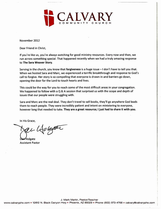 Letter Of Recommendation From Pastor Awesome Ruby Ridge Pastor References Ruby Ridge Ficial Web Site