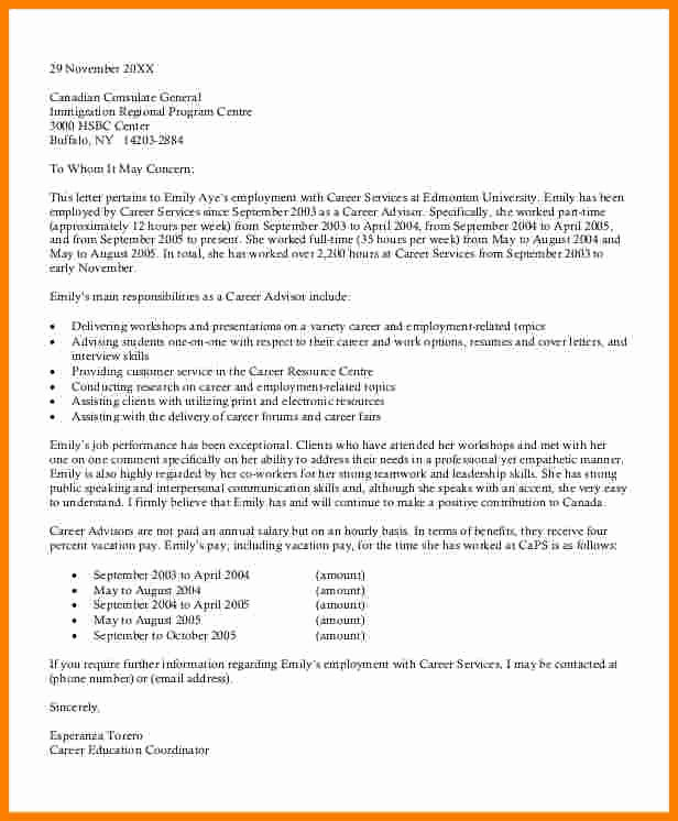Letter Of Recommendation Immigration Inspirational 9 Immigration Letter Of Support