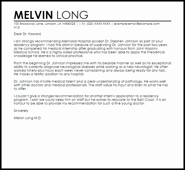 Letter Of Recommendation Internship Elegant Internship Letter Re Mendation