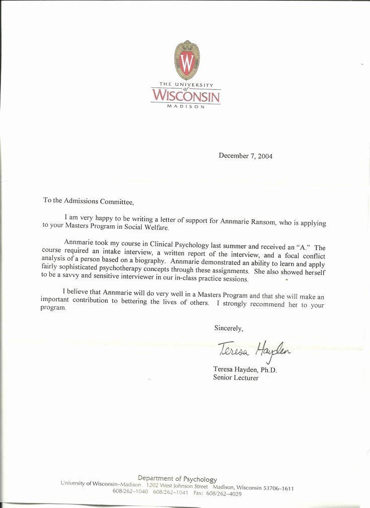 Letter Of Recommendation Letterhead Beautiful 11 Best Reference Letter Images On Pinterest