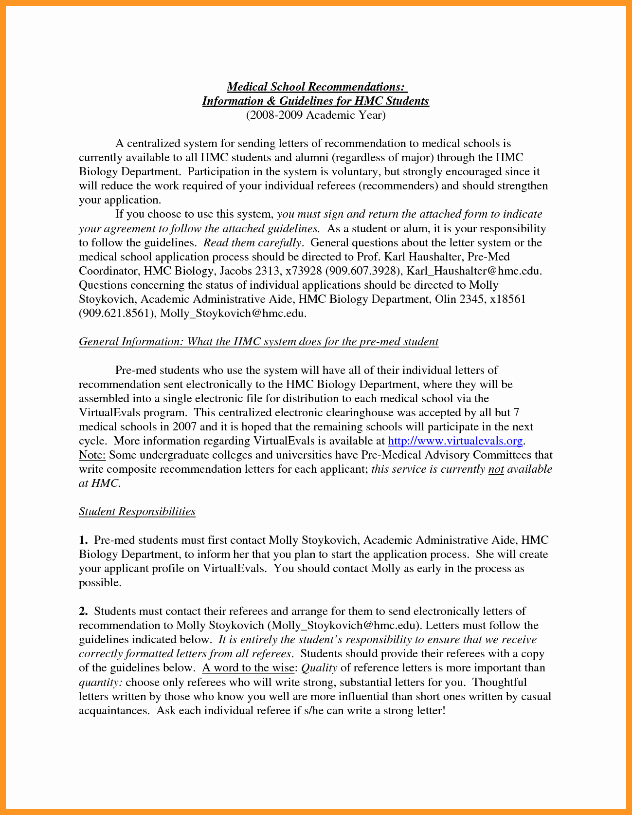 Letter Of Recommendation Medical School Inspirational Re Mendation Letter Medical School