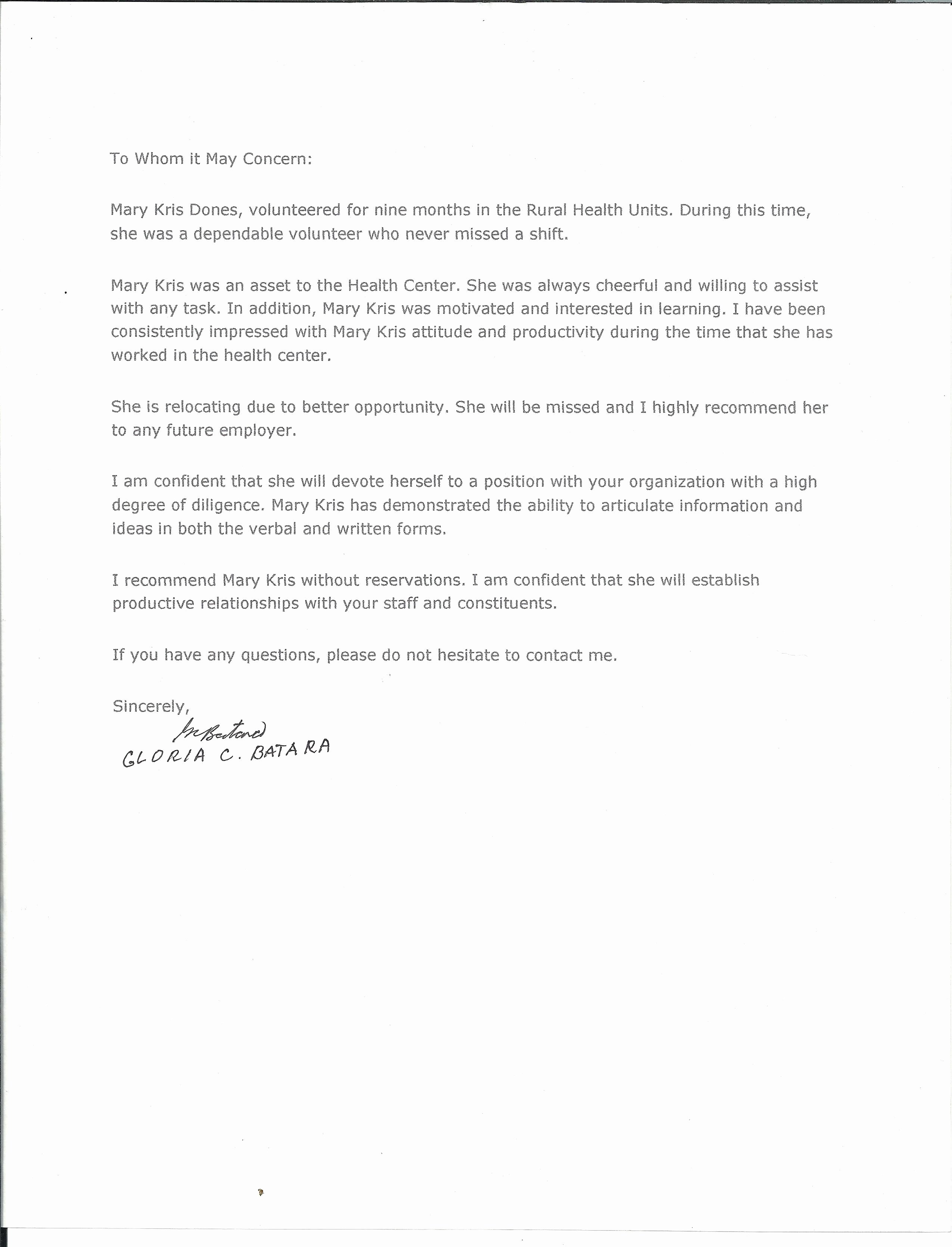 Letter Of Recommendation Nanny Luxury Nanny Re Mendation Letter Cover Letter Exle