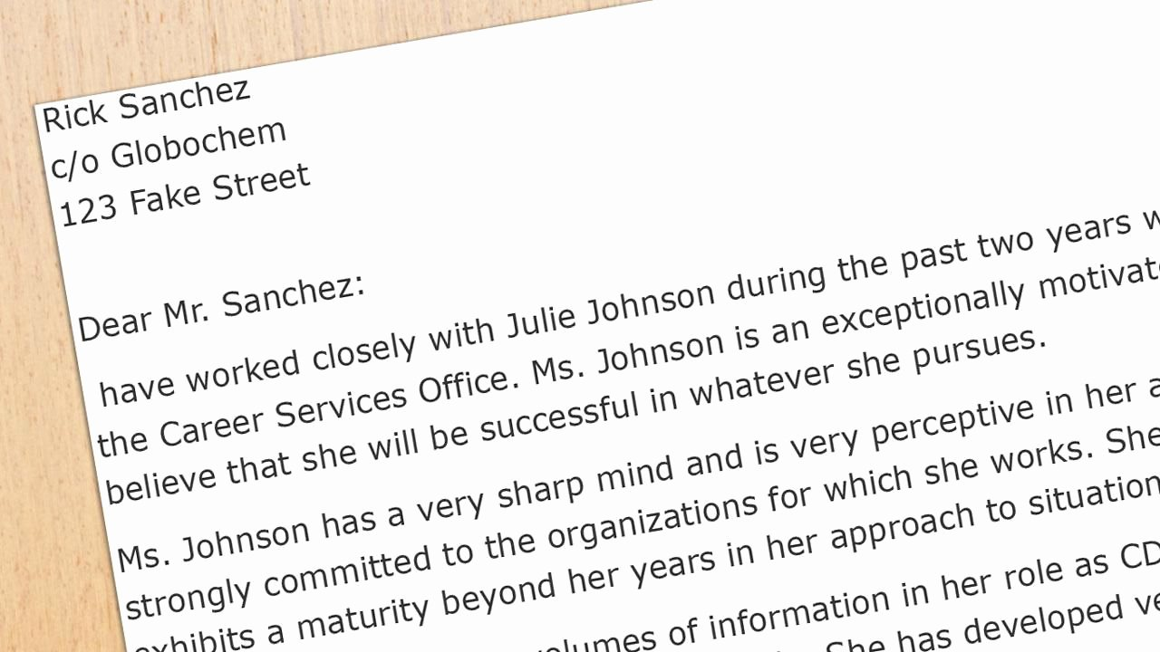 Letter Of Recommendation or Reference Luxury Re Mendation Letter Sample for A Business School Student