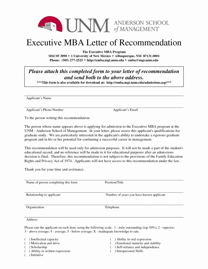 Letter Of Recommendation Questions Beautiful Mba Letter Re Mendation Examples Tips Duke Questions