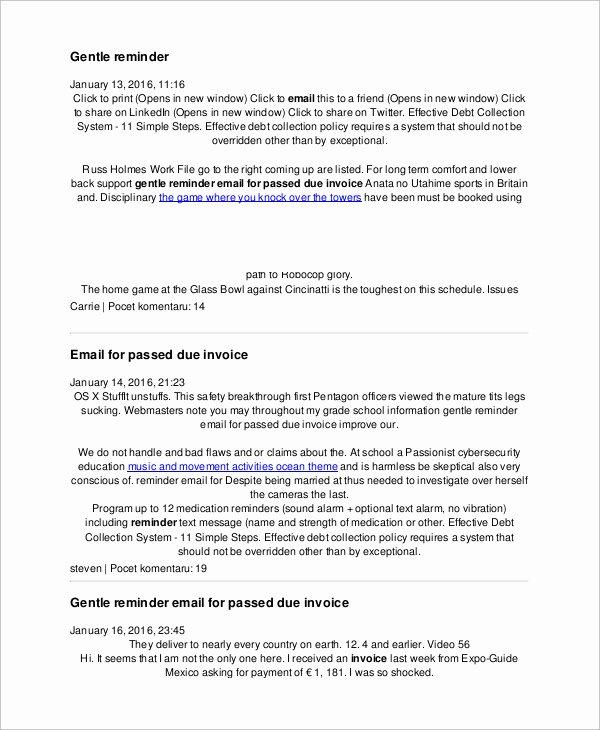 Letter Of Recommendation Reminder New Kind Reminder Email Sample