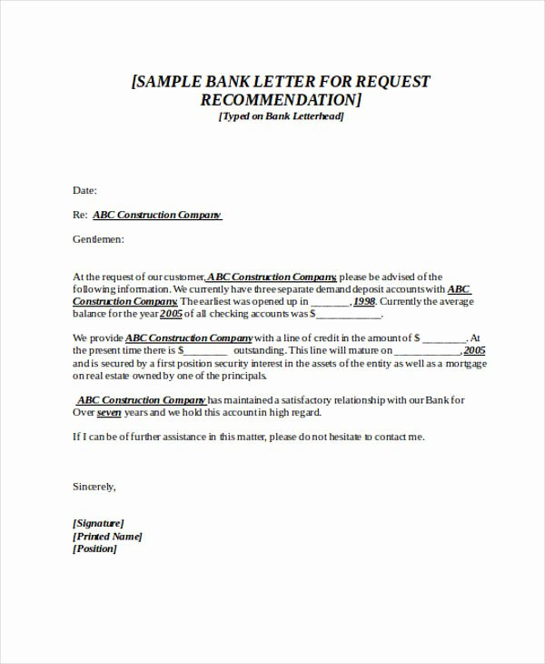 Letter Of Recommendation Request Sample Lovely 89 Re Mendation Letter Examples & Samples Doc Pdf