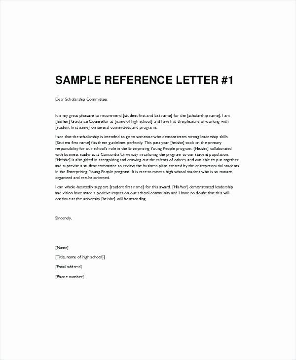 Letter Of Recommendation Requirements Elegant format Of Re Mendation Letter for Student – Benvickers